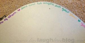 Live.Laugh.L0ve. // sharpie DIYs