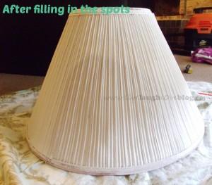 Live.Laugh.L0ve. // DIY painted lampshade