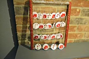 DIY Advent Calendar via @clivelaughl0ve