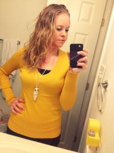 Bathroom Selfies + WIWW via @clivelaughl0ve