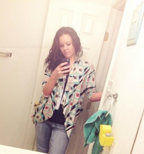 Live.Laugh.L0ve. // Do you rock to your own style? #fashion #aztec #cardigan