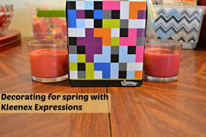 Live.Laugh.L0ve. // Decorating for spring with Kleenex Expressions #KleenexStyle