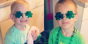 Live.Laugh.L0ve. // Our St. Patrick's Day + a handmade birthday gift