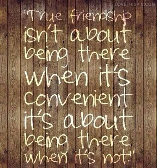 Live.Laugh.L0ve. // I'm not a convenient friend