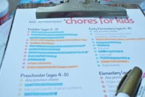 Live.Laugh.L0ve. // DIY Sharpie Paint Marker Chore Cards