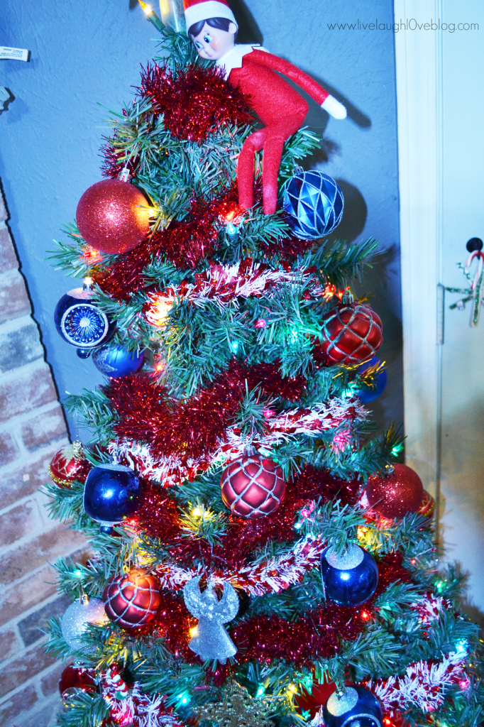 Live.Laugh.L0ve. // Our Christmas Decor + How things were different this year